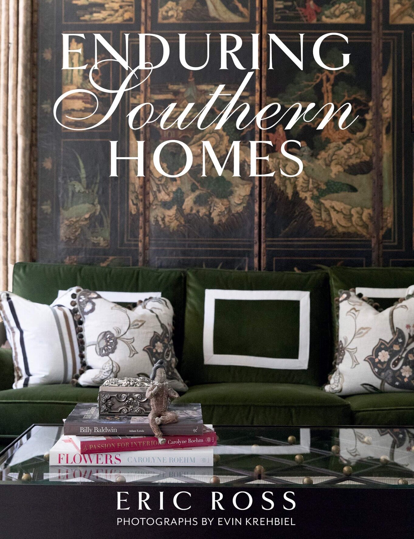 Eric Ross is known for his trademark fresh take on traditional Southern style. His Southern approach to traditional interiors combines little bit of French country and Southern hospitality. Book showcases some of his most beautiful projects along with simple advice on how to create your very own enduring home .