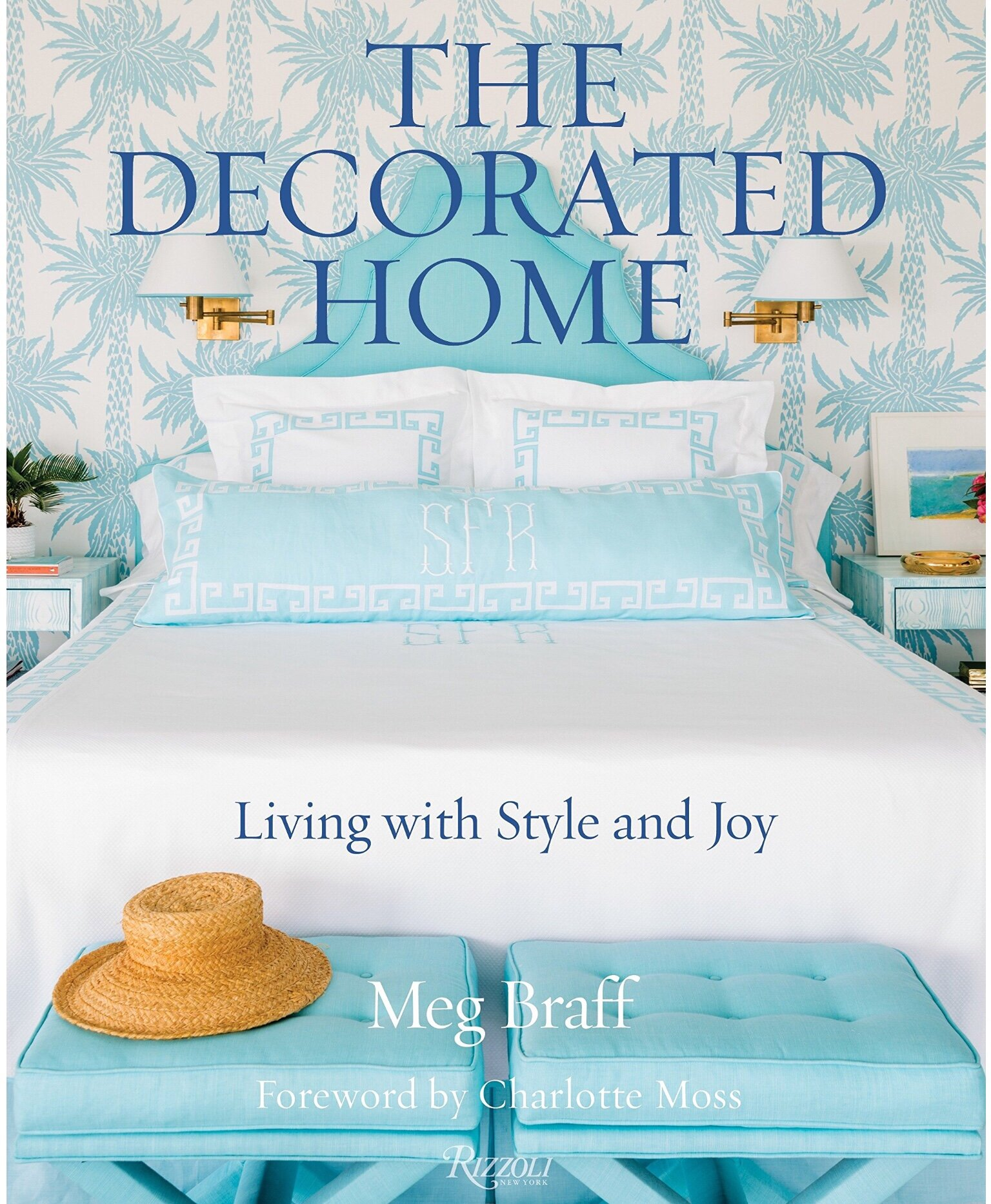 Meg Bradford is my personal favorite designer! Her classic yet cheerful style is approachable and pretty. In her book Meg shares advice on creating spaces that are comfortable and attractive.She discusses the essential elements needed to create stylish bedrooms ,and explores the fundamentals of inviting baths and breakfast rooms.