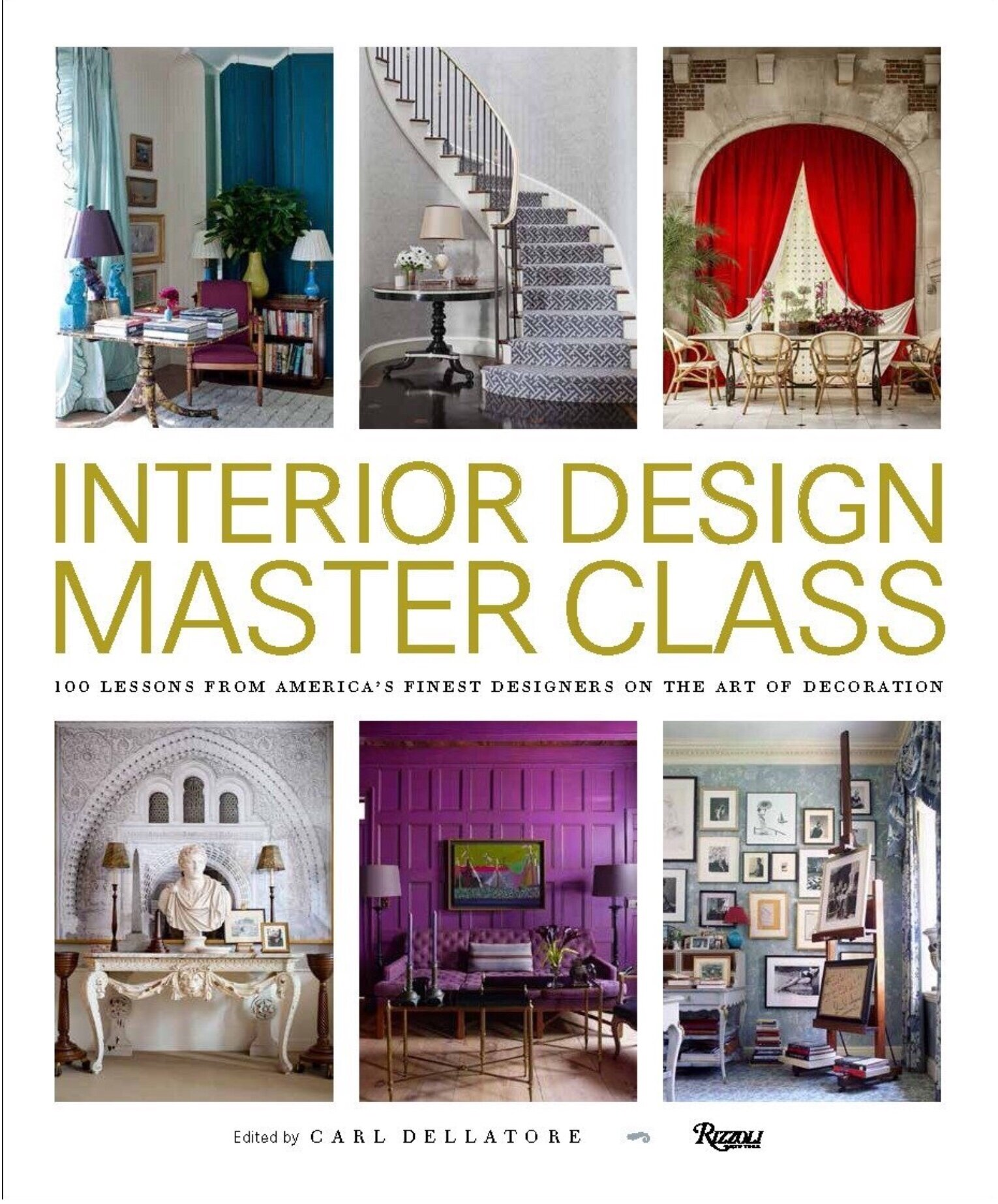 I saved best for the last ! This is truly the master class of design .Book compiles hundred essays on various design topics from masters of Interior Design.  From Charlotte Moss to Bunny Williams book offers expertise and the knowledge on Interior Design from the best in the field.