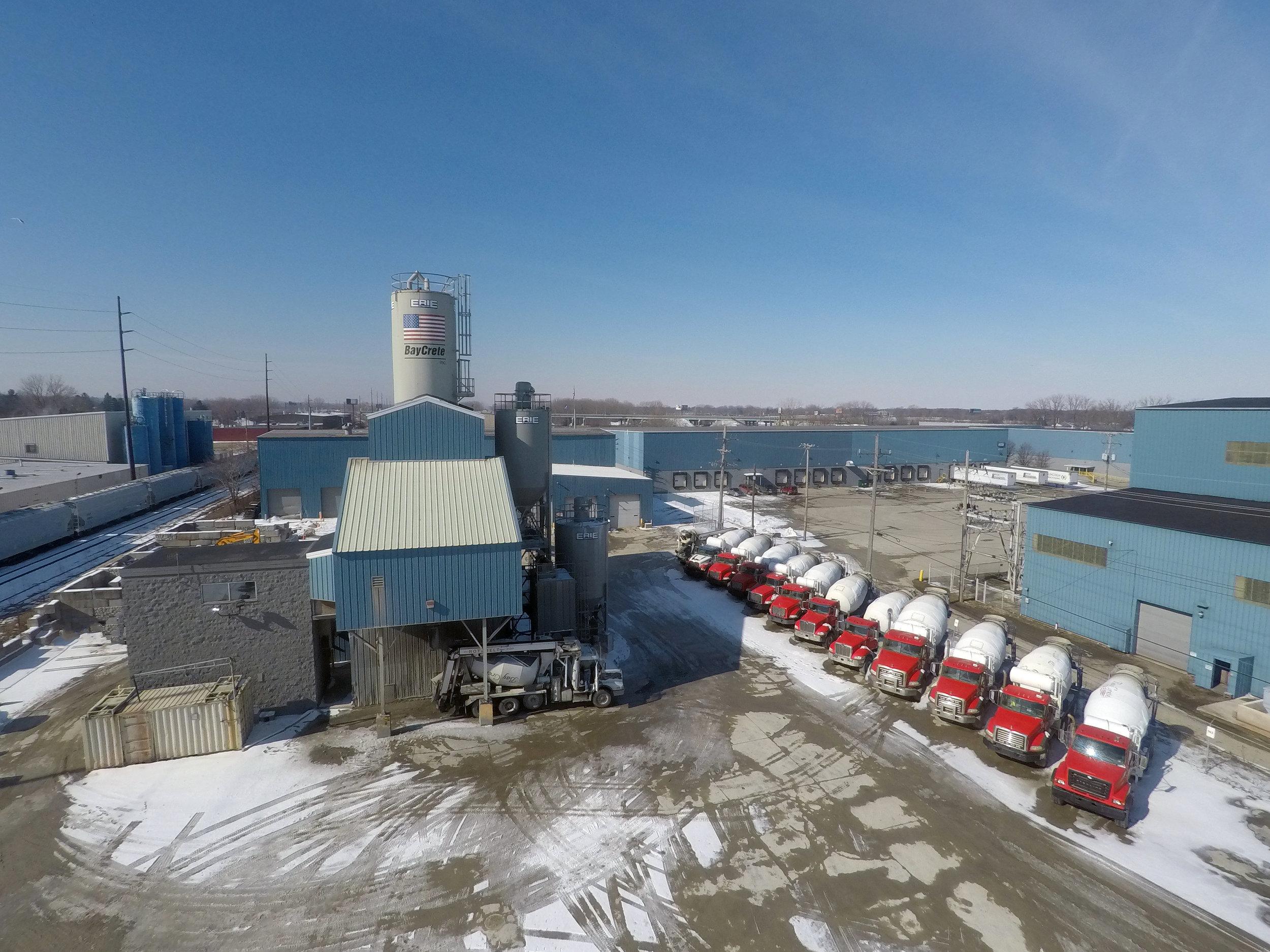 "BayCrete, Inc. 18 Mixer Truck Fleet – 10 yard + Mixers*    1 – 60'0"" Retractable Theam Conveyor 1 – 50'0"" Retractable Theam Conveyor 1 – 50'0"" Retractable Roto-Belt Conveyor 1 – 40'0"" Fixed Theam Conveyor"