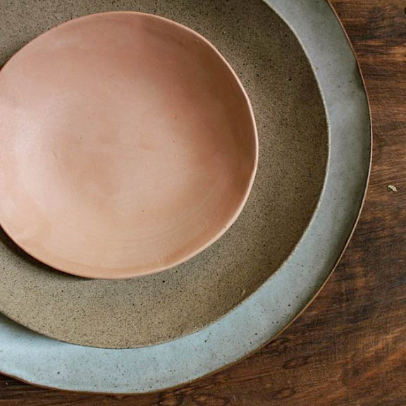 Pottery Dish // Clay Plate // Handmade // Artisan Made