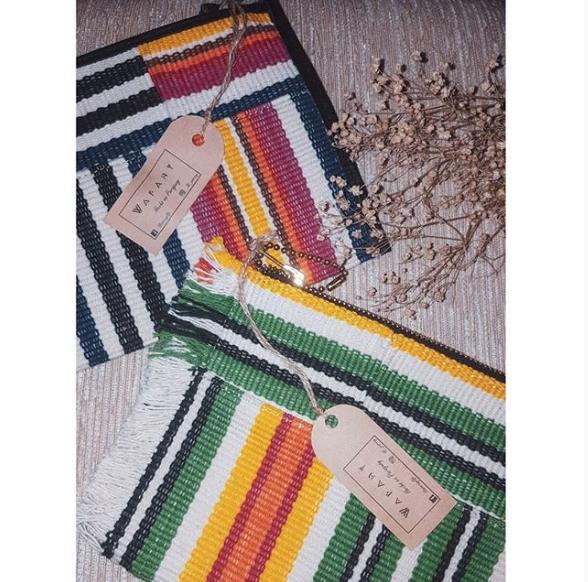 Clutch // Handbag // Wrist Strap // Colorful Clutch
