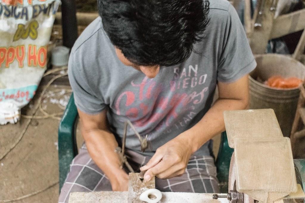Tagua Artisan // Ecuador // Organic Jewelry