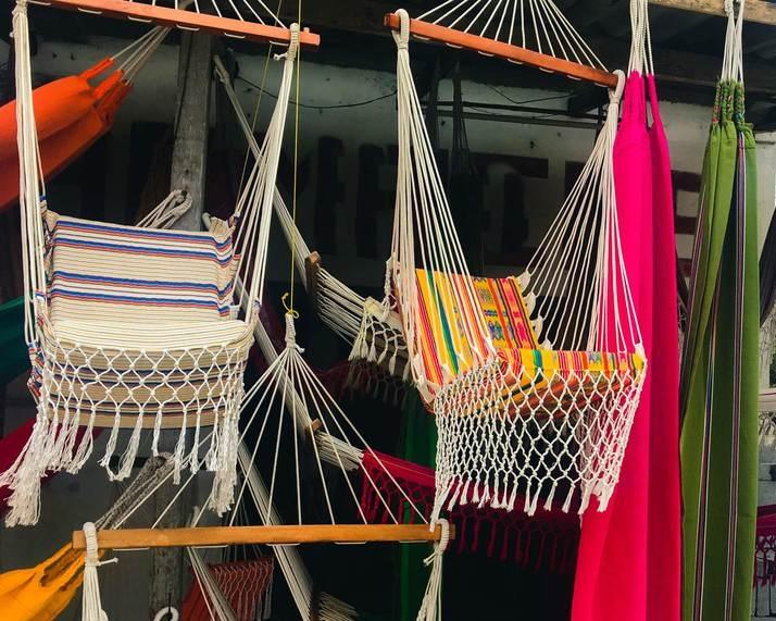 Ecuadorian Handmade Hammock // Chair Hammock