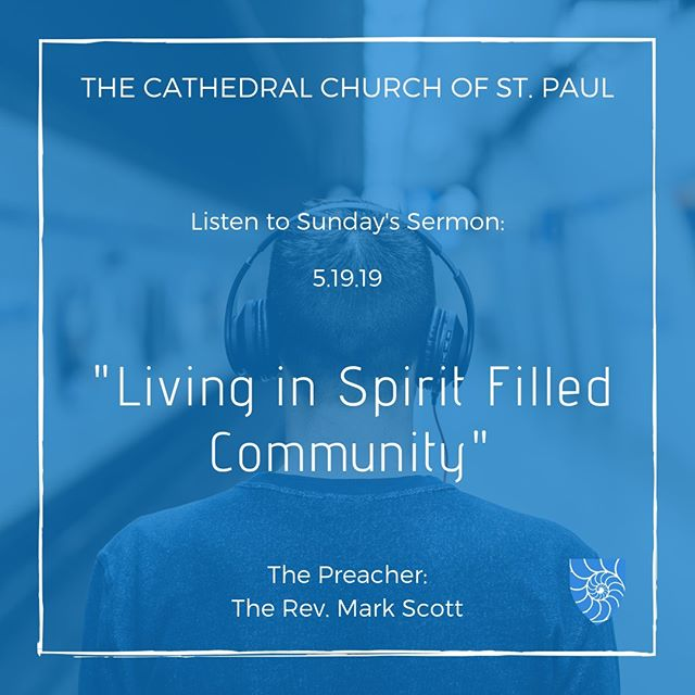 Listen to The Rev. Mark Scott's sermon from this past Sunday.  https://www.stpaulboston.org/sermons-1
