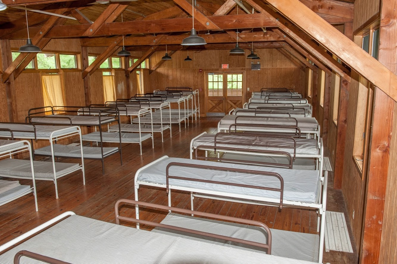 Ashland Lodge bunk hall left wing.jpg