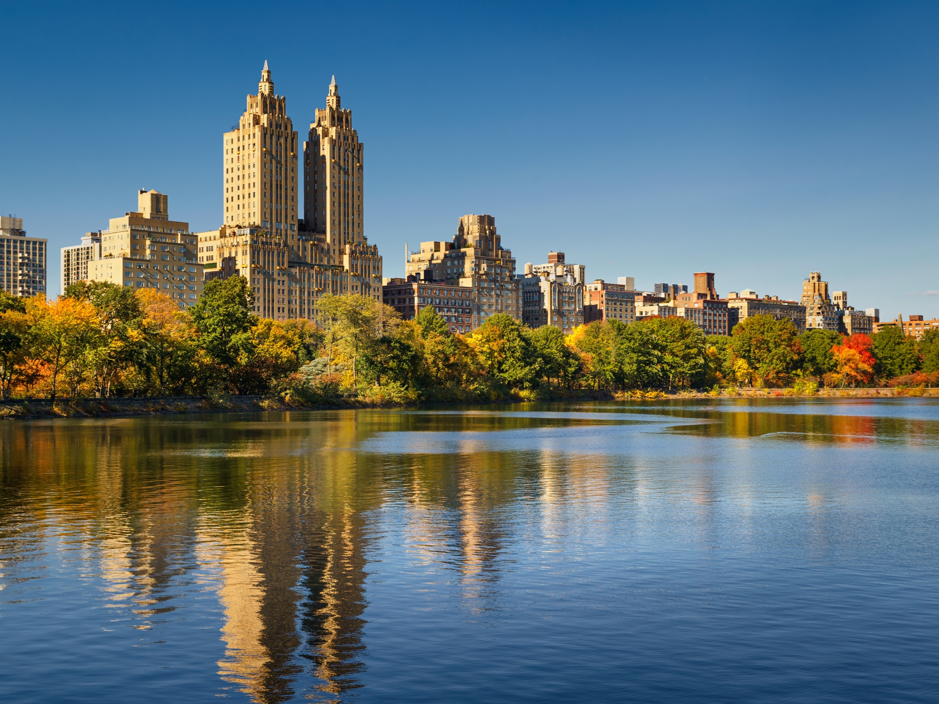 Central Park Reservoir is a favorite location for walk and talk or run and talk sessions