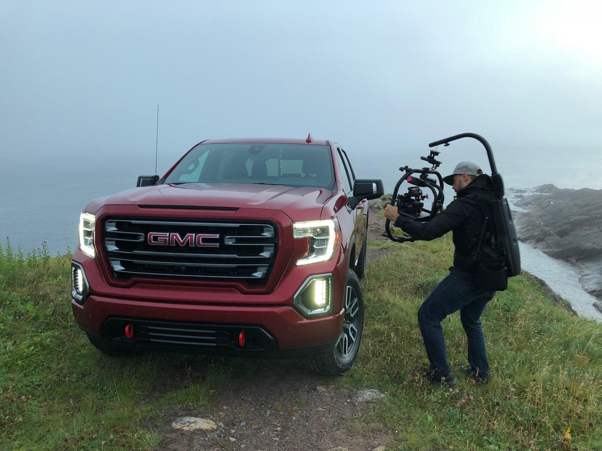 On location @ Cape Spear Newfoundland CA