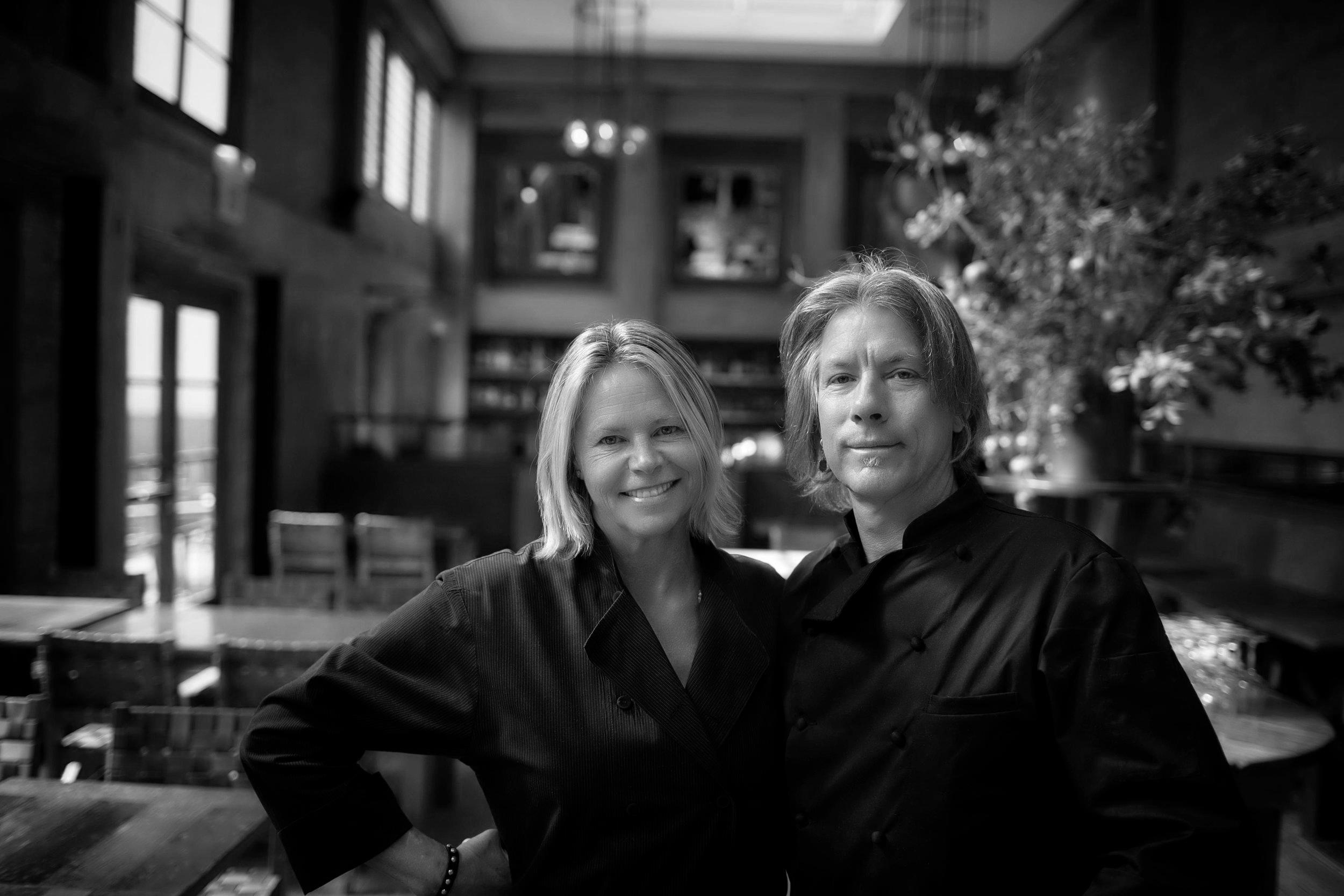 Gayle Pirie and John Clark of Foreign Cinema