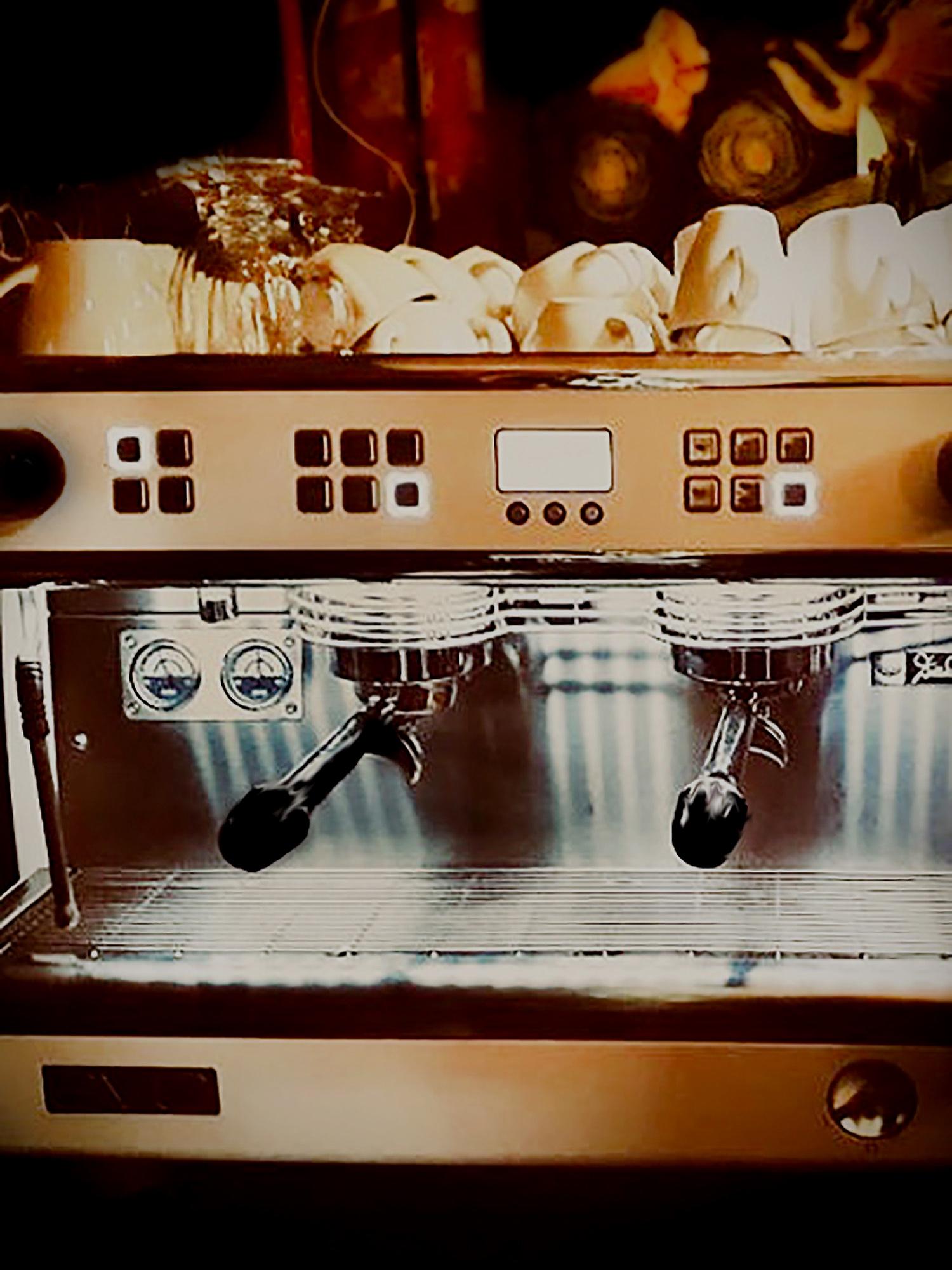 Our Italian Coffee Machine