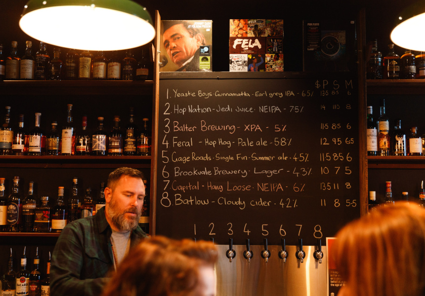 - Vinyl Store By Day, Bar By Night – Say Hi to Enmore's Cottonmouth Records