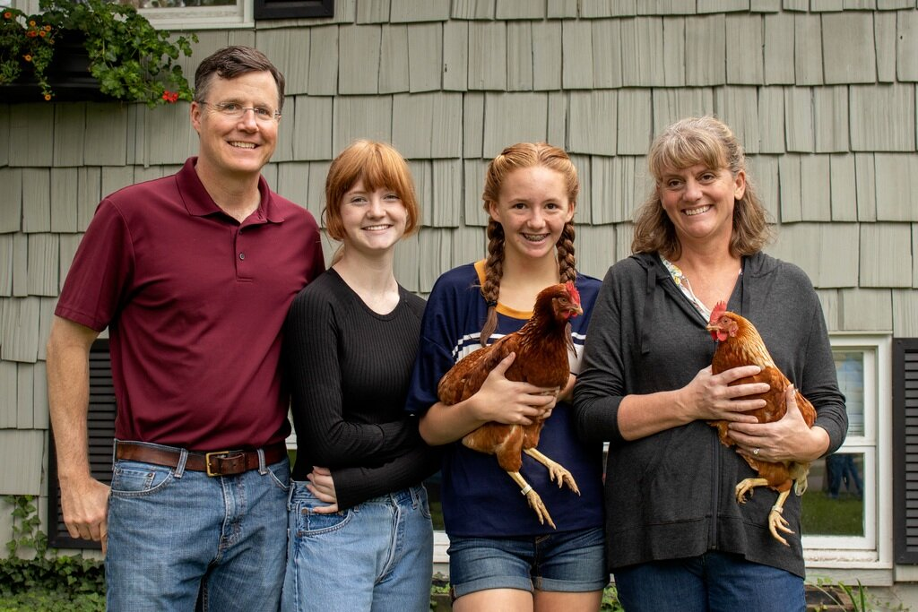 Rent the Chicken lets families raise chickens in their own backyards