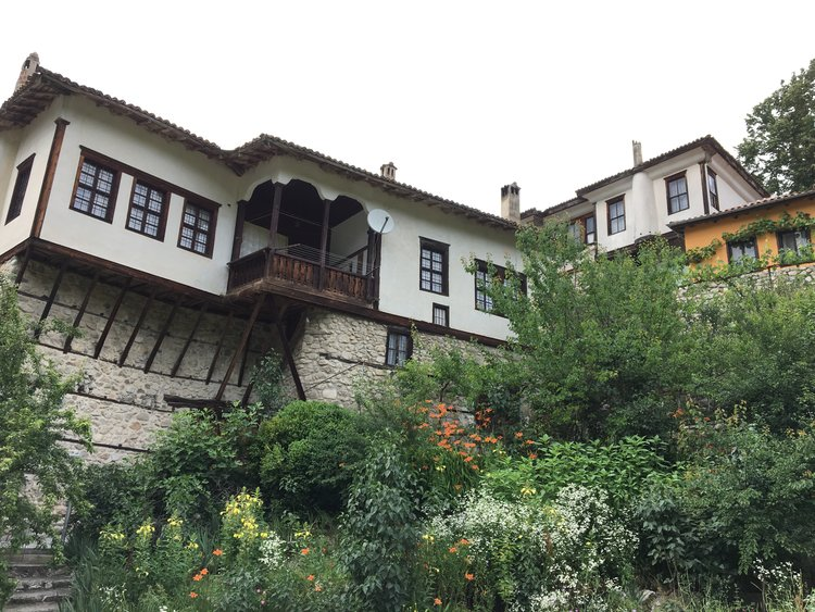 Bulgarian National Revival houses in Melnik