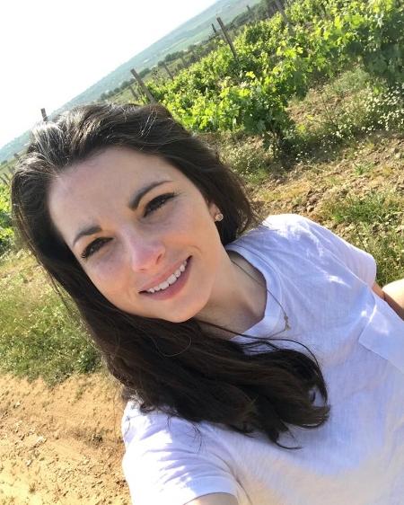 Rachel at Bratanov Winery