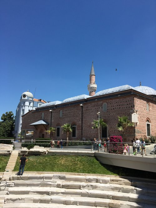 The Roman Stadium and the Mosque