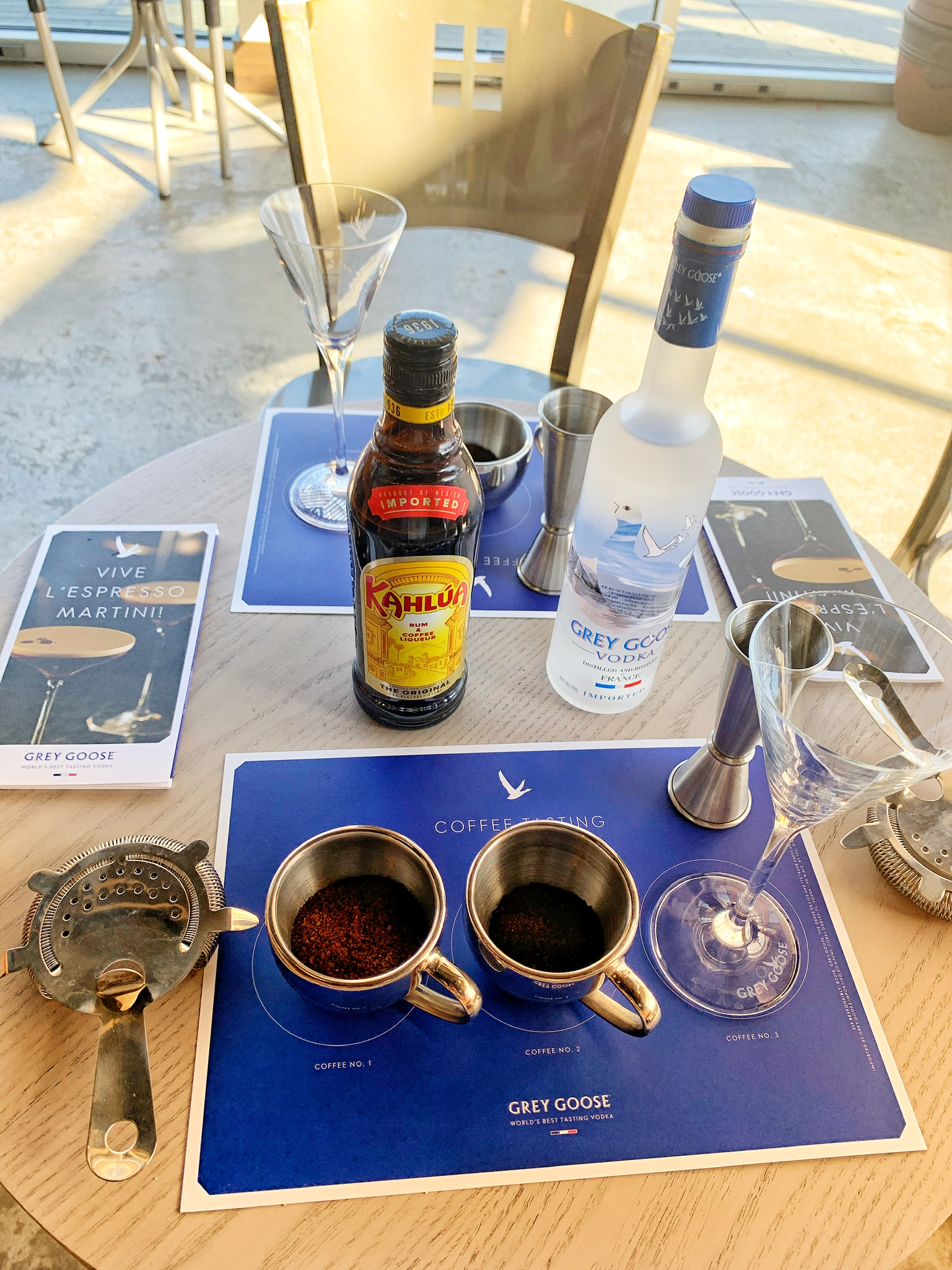 Ground Coffee for the Vive L'Espresso Martini