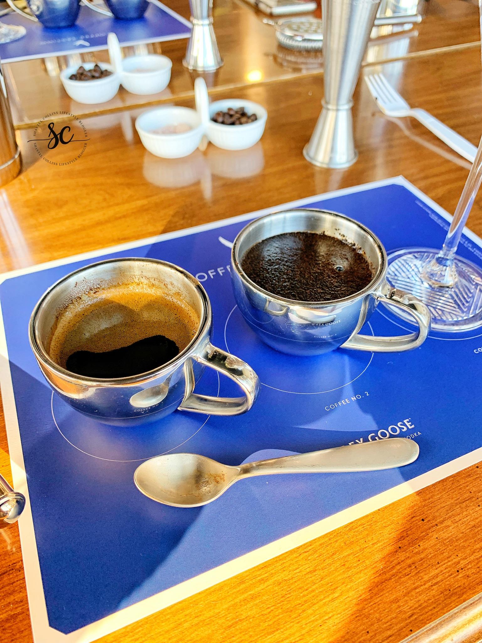 Espresso made for the Vive L' Espresso Martini