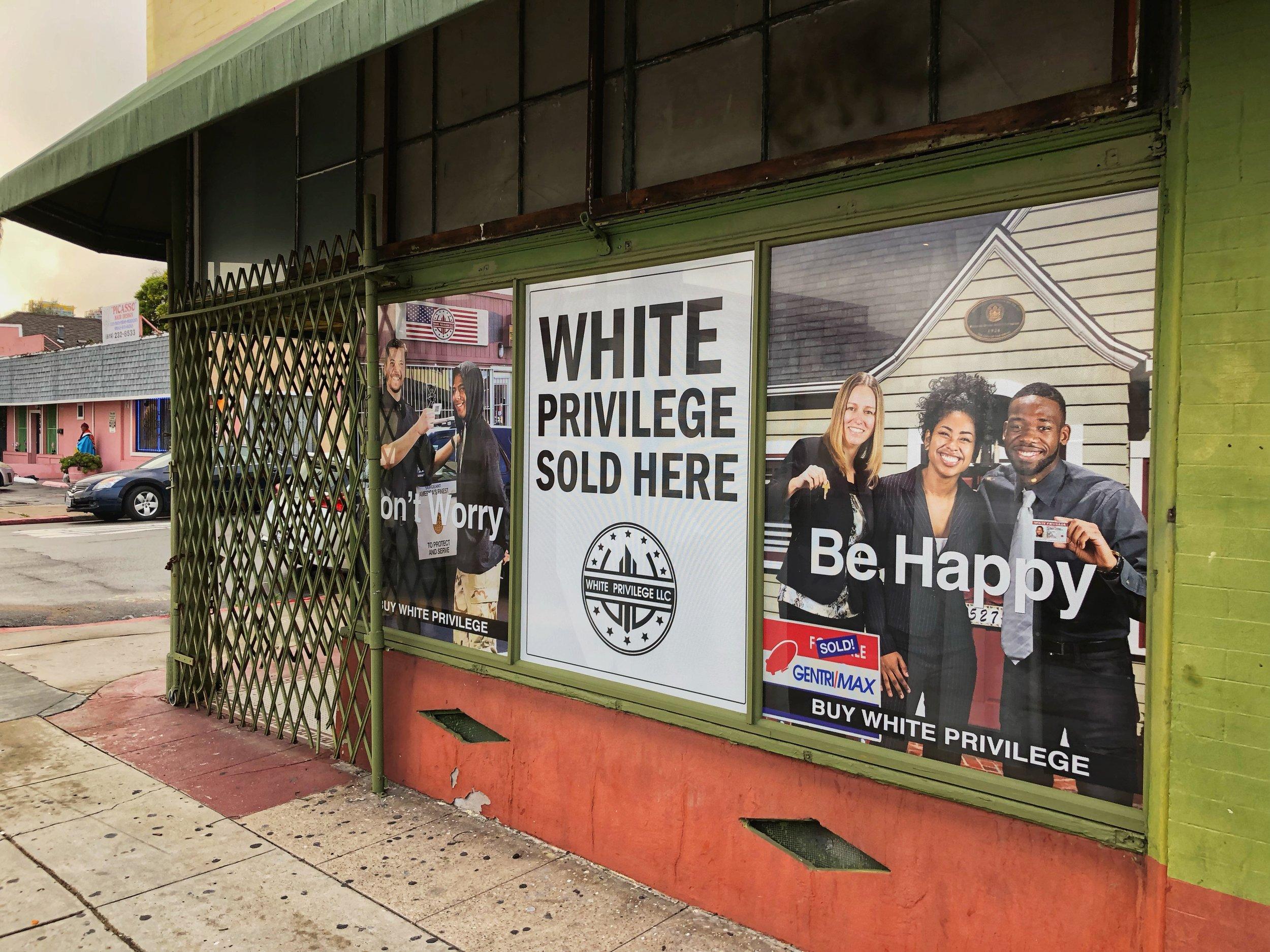 Buy White Privilege San Diego