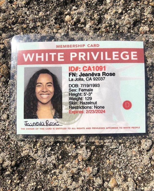 It's happening for real! Tomorrow from 12-6 and Sunday from 12-5, come hang with us and get your White Privilege Card at @tularosa.art (2604 Imperial Ave at 26th St) 📸 by @iamrosequartzz #art #artinstallation #artist #collaboration #community #sandiego #protestart #activism #buywhiteprivilege #whiteprivilege #racism #civilrights #equality #contemporaryart #artwork #publicart  #idcard #id #culture #creative #interactive #sandiegoevents #californiaart