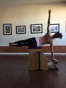 Darcy Full Circle Chair Shoulder Exercise
