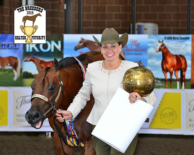 Chamber President & The Garden by Elizabeth owner, Elizabeth Beauchamp. In her free time, Elizabeth travels the United States participating in American Quarter Horse shows. She is a multi time Futurity, and World Champion.
