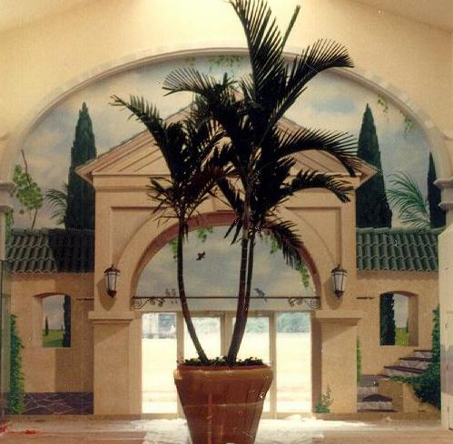 Entrance mural at Columbiana Mall, Columbia SC