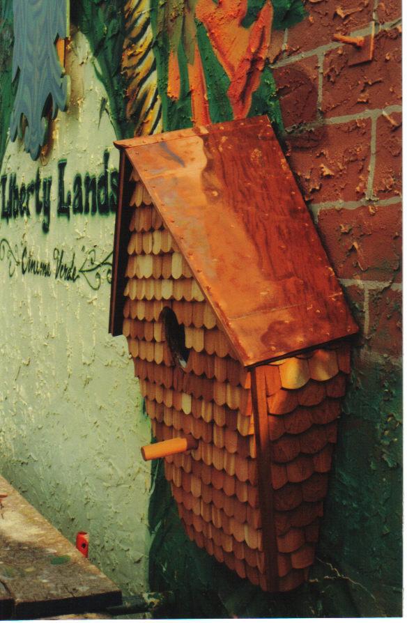 """Cinema Verde"" mural at Liberty Lands Park"