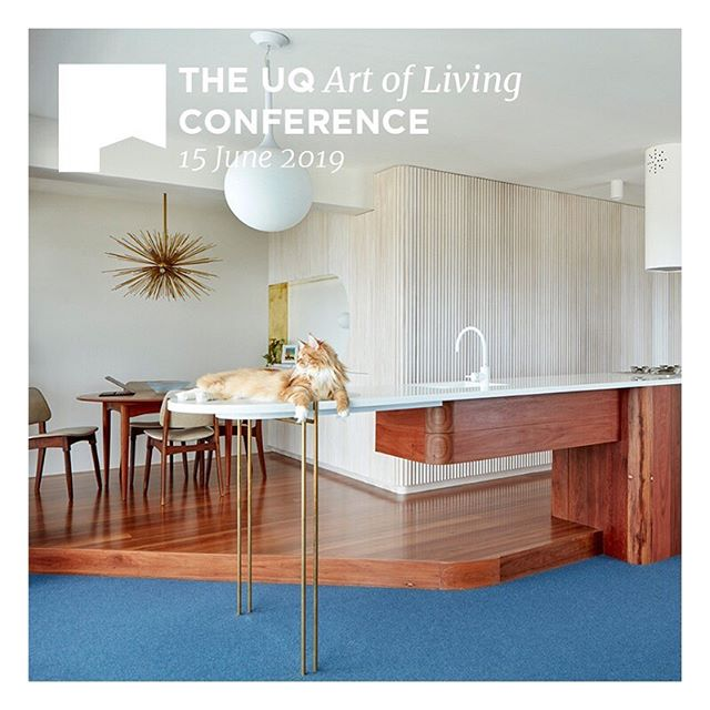 This Saturday KIN will present with a fantastic lineup of UQ Alumi at the Art of Living Conference. From UQ: this one day conference will feature presentations on outstanding residential projects by distinguished and emerging architecture alumni from The University of Queensland practicing locally, interstate and internationally. Presentations and discussion will consider and celebrate the contribution these recent residential works make to the story of Australian architecture.  Lineup: @bloxas @annaogormanarchitect @hoggandlamb @atelierchenhung @popovbass @lineburgwang @nicholas_skepper @teeland_ @murraybarker @atelierchenhung @uqarchitecture_#uqarchitecture#uqartoflivingconference #torbreck10f #catsofinstagram