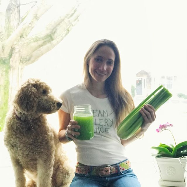 CELERY JUICE! 🌱⭐️ • It's been about a year now that I have been consistently juicing celery as part of my daily protocols to heal from psoriasis. I started out with 4-8oz of celery juice to get myself used to the taste and smell, slowly increasing the amount to 16oz and now I can now easily drink between 24-30oz. My kids have also joined in and for the past 8 months, they have been drinking 16oz of celery juice first thing in the morning. My dog also LOVES celery. She is sitting next to me to be closer to the celery! 🤩🐶👀🌱 • In less than a year my family has experienced the benefits of drinking this very simple, but super powerful and life-changing herbal juice. It takes time, commitment, and some cleaning, but the benefits of good health are priceless. • Some of the benefits I have experienced ... 🌱 better digestion, softer skin, my skin is also healing from (psoriasis), more energy, mental clarity, a decrease in seasonal allergies/nasal congestion, sweet cravings, and no more pain in my lower back and joints due to psoriatic arthritis. • My son... 🌱his allergies and congestion have improved significantly and he no longer needs allergy medicines or decongestants. • My daughter... 🌱no more cavities. On our recent visit to the kid's dentist, the dentist was very surprised to see that my daughter's cavities and decay had basically disappeared from her permanent molars. Needless to say, the dentist could not understand how without consistently flossing every day or using mouthwash her cavities and the decay had disappeared. The answer we gave... Besides eating more fruits and vegetables every day, she has been drinking 16oz of celery juice every morning! 🙌🏻 • I want to give my most sincere thanks to Anthony William for all the information he shares with us so that we can heal, and teach our kids, the future generation, how to take care of their bodies, how to help others, and to appreciate and value the gifts from Mother Earth! 🙏🏻🕊 . . . #medicalmedium #celeryjuice #pla