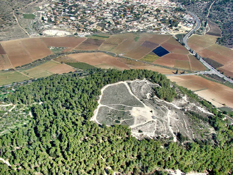 Tel Azekah gives us a good view of where David slew Goliath
