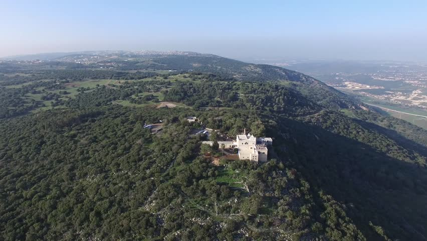 View of Mt. Carmel where Elijah challenged the Baal prophets