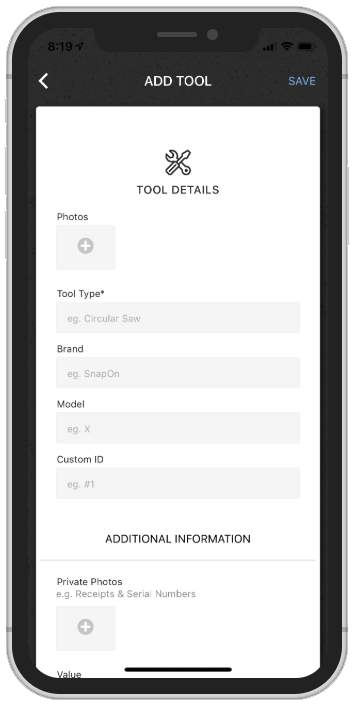 Fast Tool Adding iPhone.png