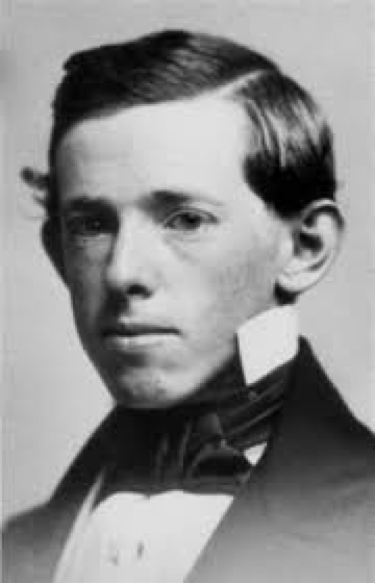 (Horatio on his graduation from Harvard in 1852)