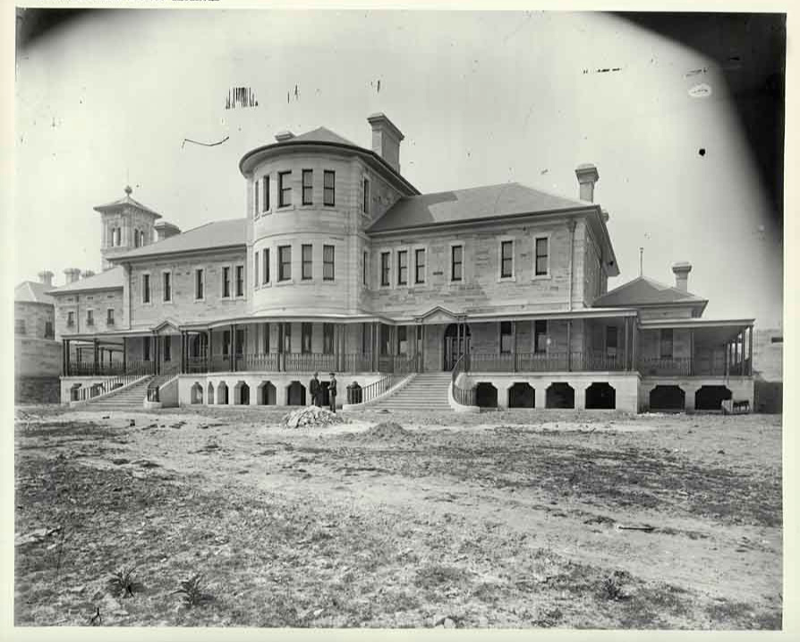 Callan Park Hospital 1883 [now Sydney College of the Arts] by  NSW State Archives   No Known Copyright  via  Flickr