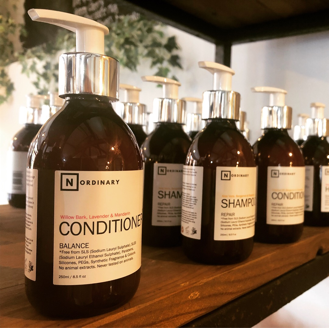 3. Use natural, organic shampoos and conditioners -