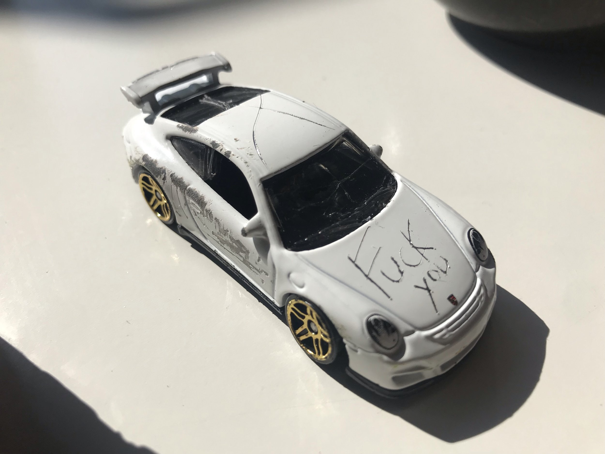 I mean, this took about two minutes to do - and it is  the coolest fucking car in the world.
