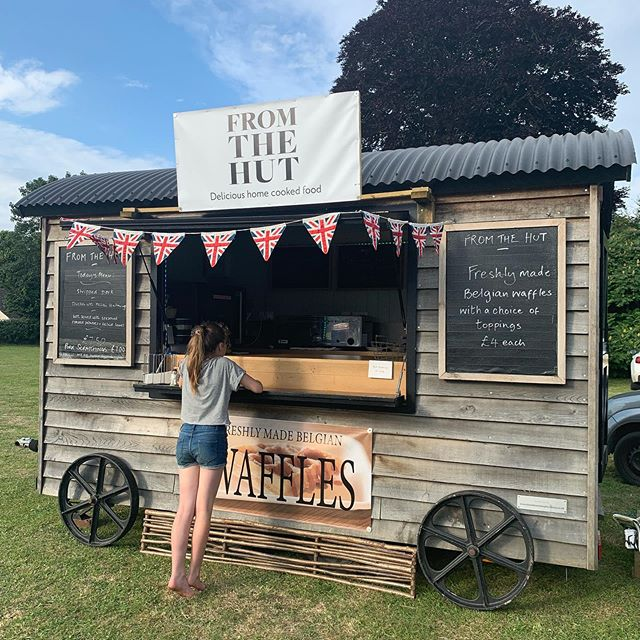 The start of a fantastic afternoon and evening at @ebblefest. #ebblefest #nunton #mobilecatering #shepherdshut #salisbury #mobilecaterer #wiltshire