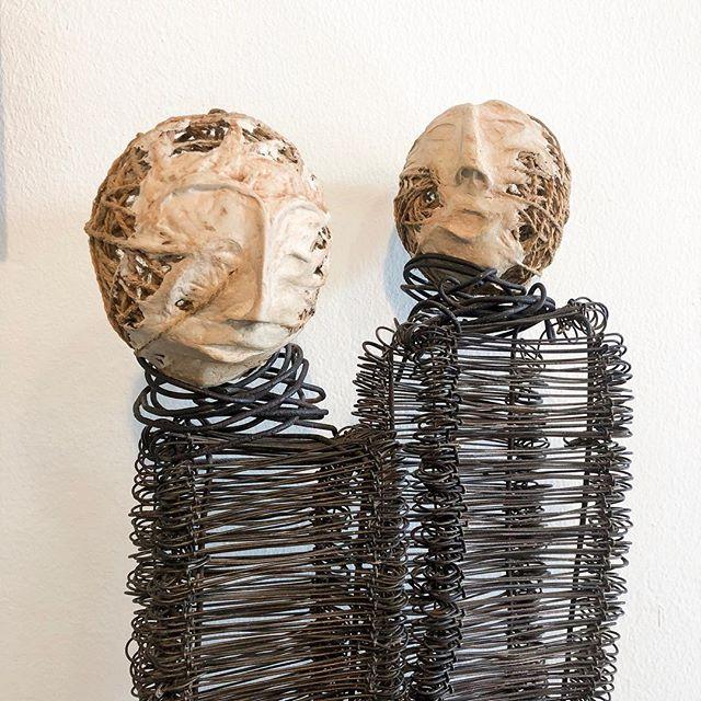 Les confidences •  #art #sculpture #stephaniepothier #recyclage #environnement #inspiration #artist #discover #gallery