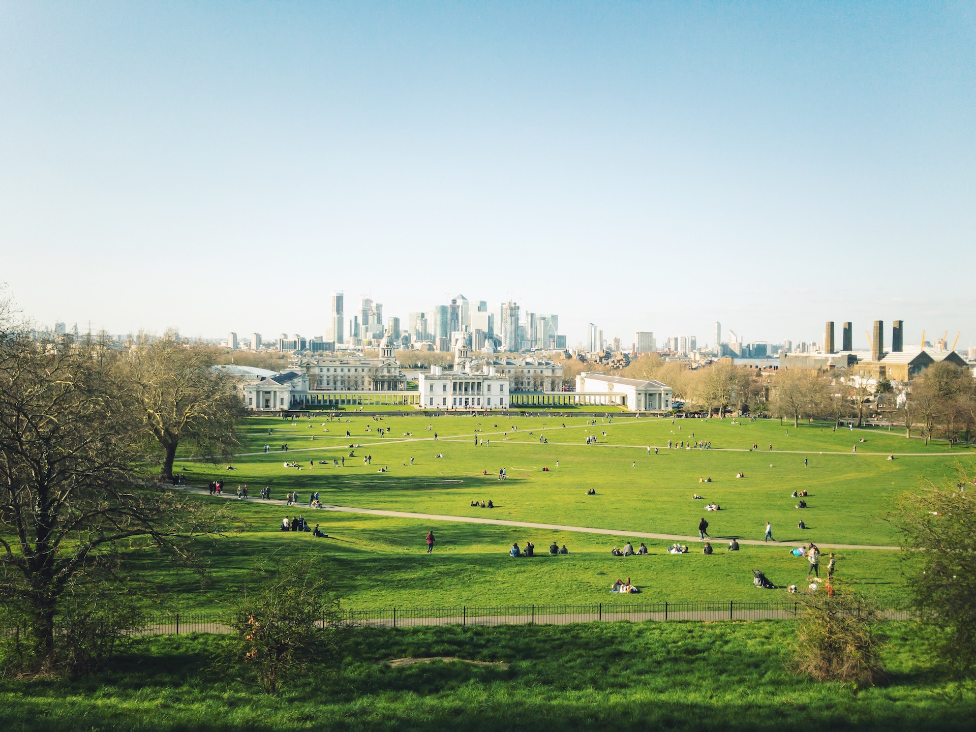 Greenwich Park View of The City.JPG