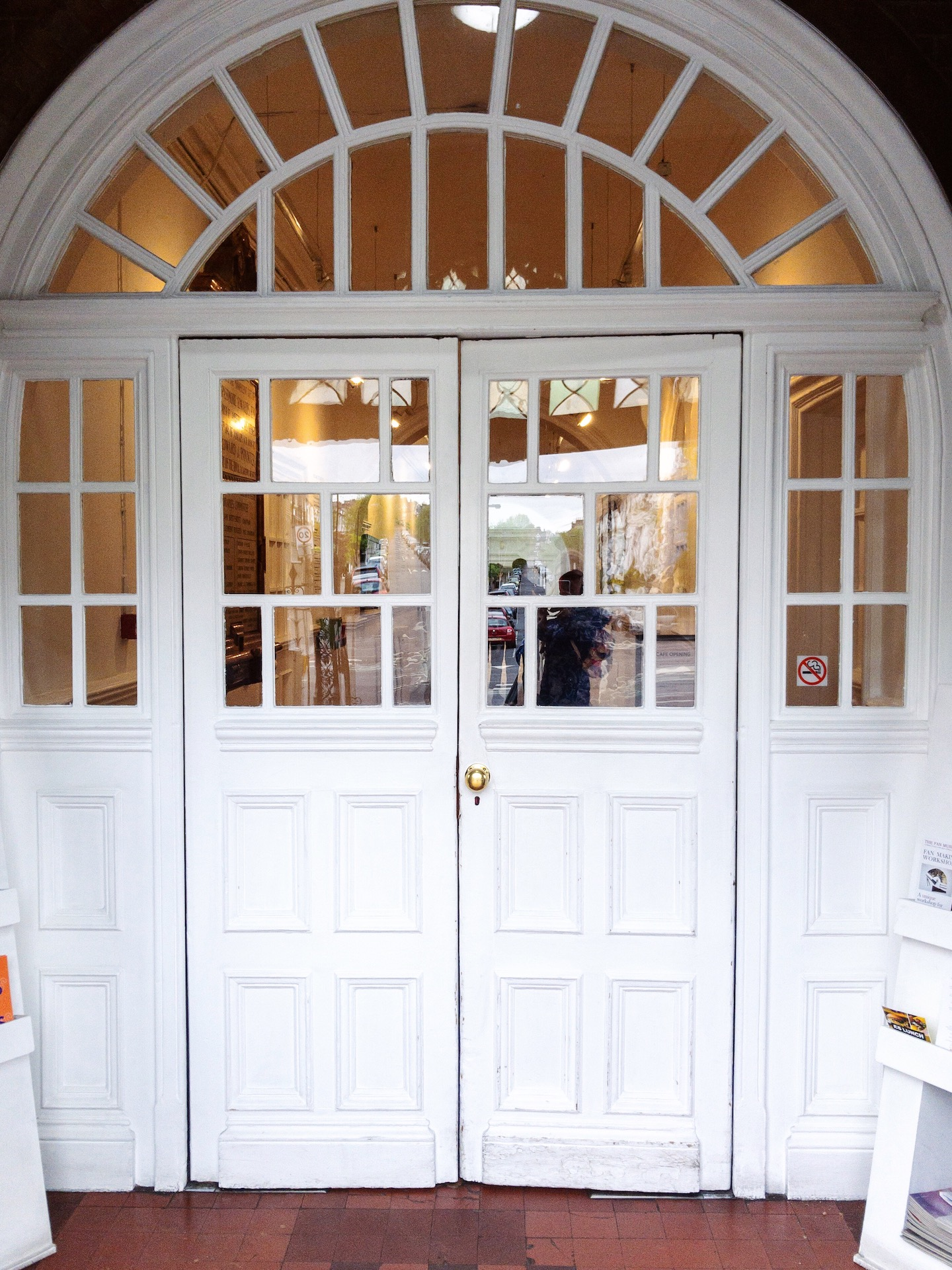 South London Gallery Entrance - What Dominika Did.JPG
