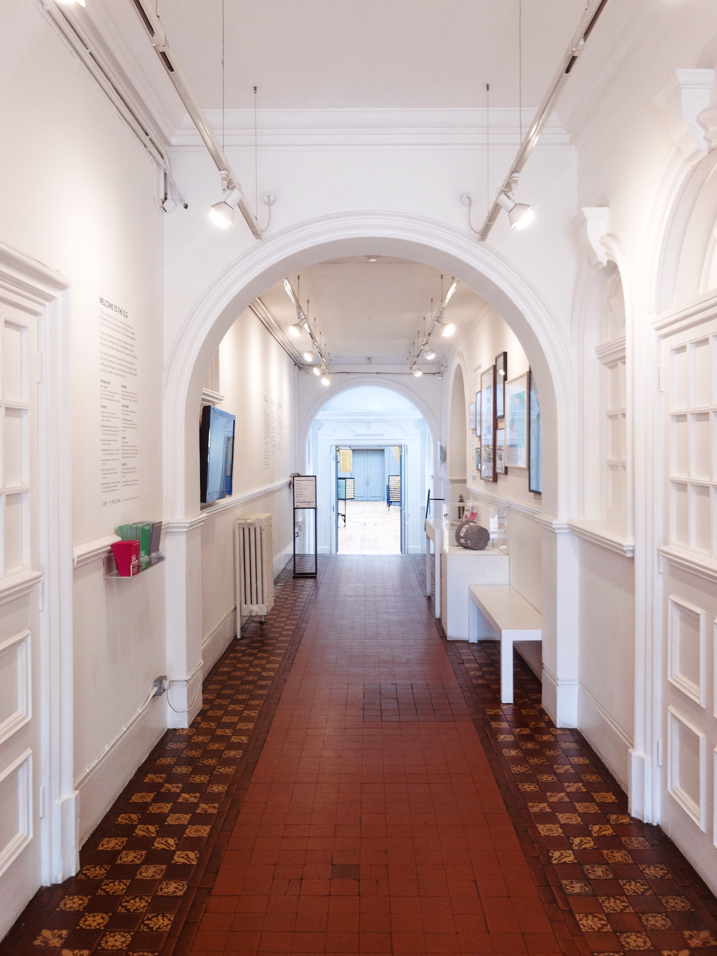 South London Gallery Corridor - What Dominika Did.JPG