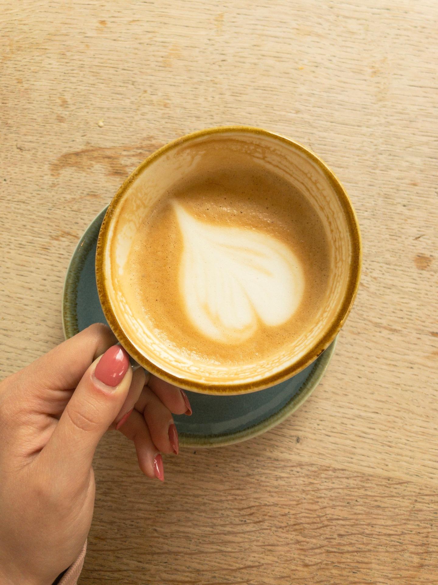 South London Gallery Crane's Kitchen Coffee - What Dominika Did.JPG