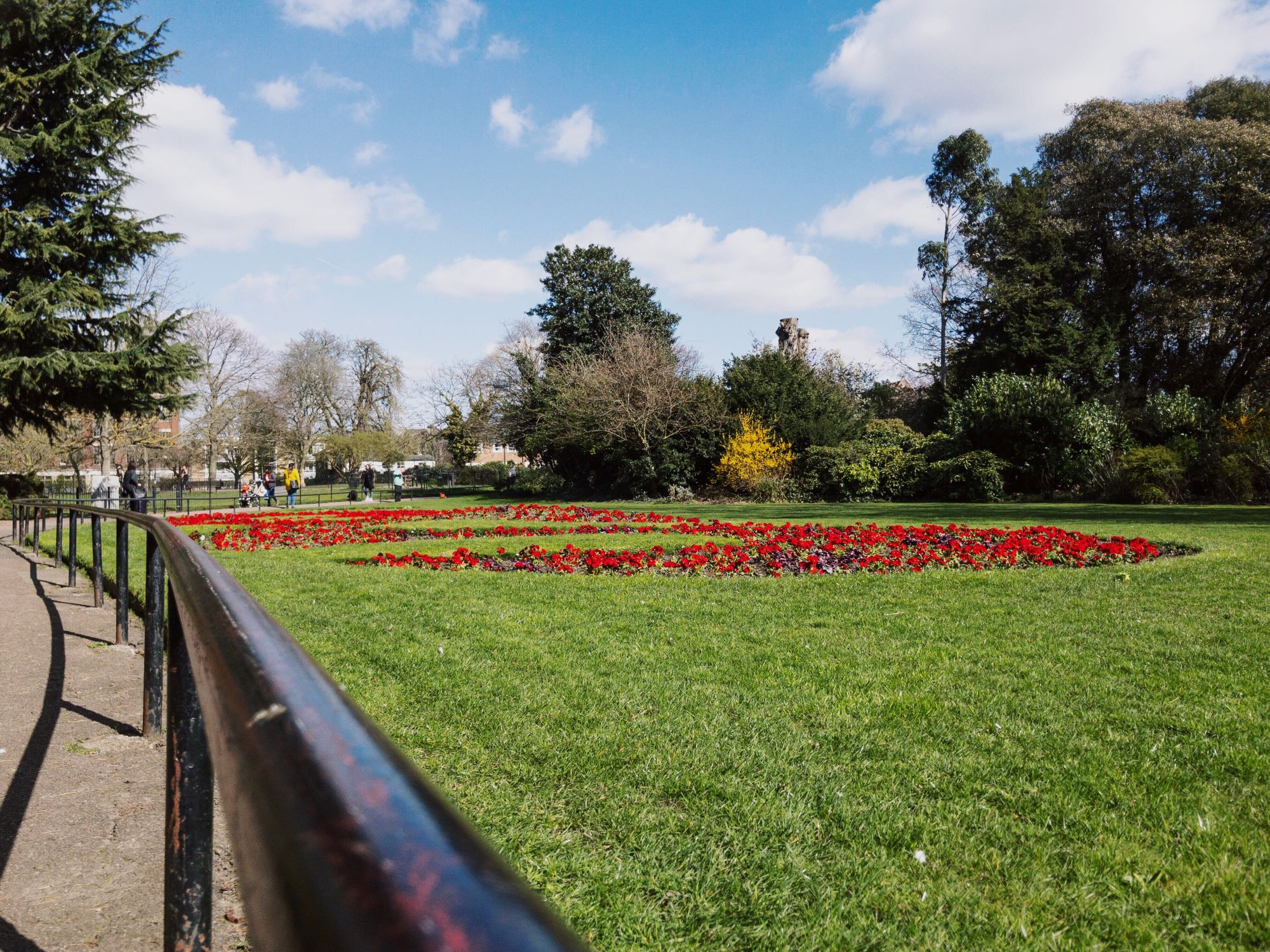 Ravenscourt Park Flower Beds.JPG
