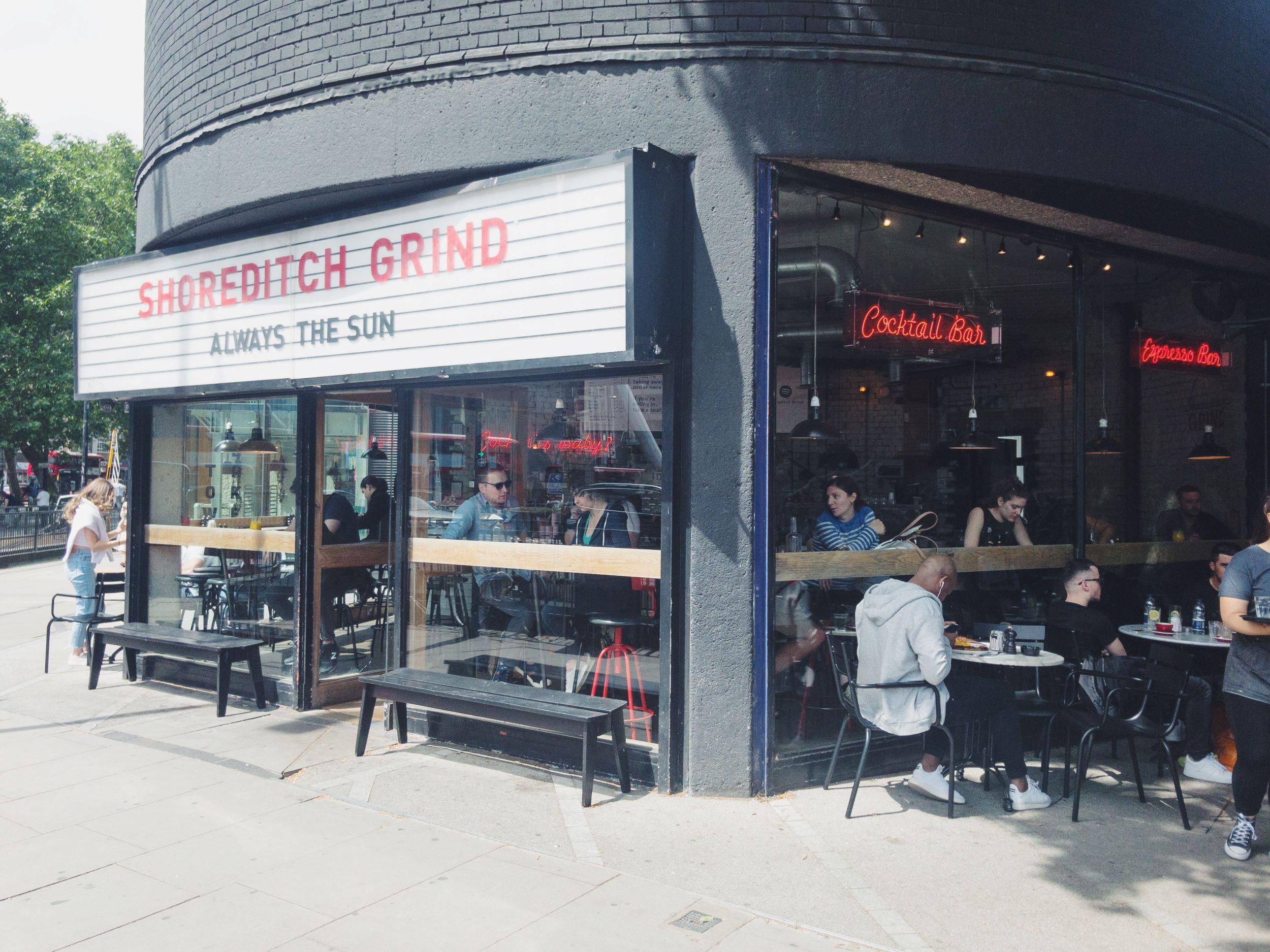 Best Coffee Shops in Shoreditch London Grind.JPG