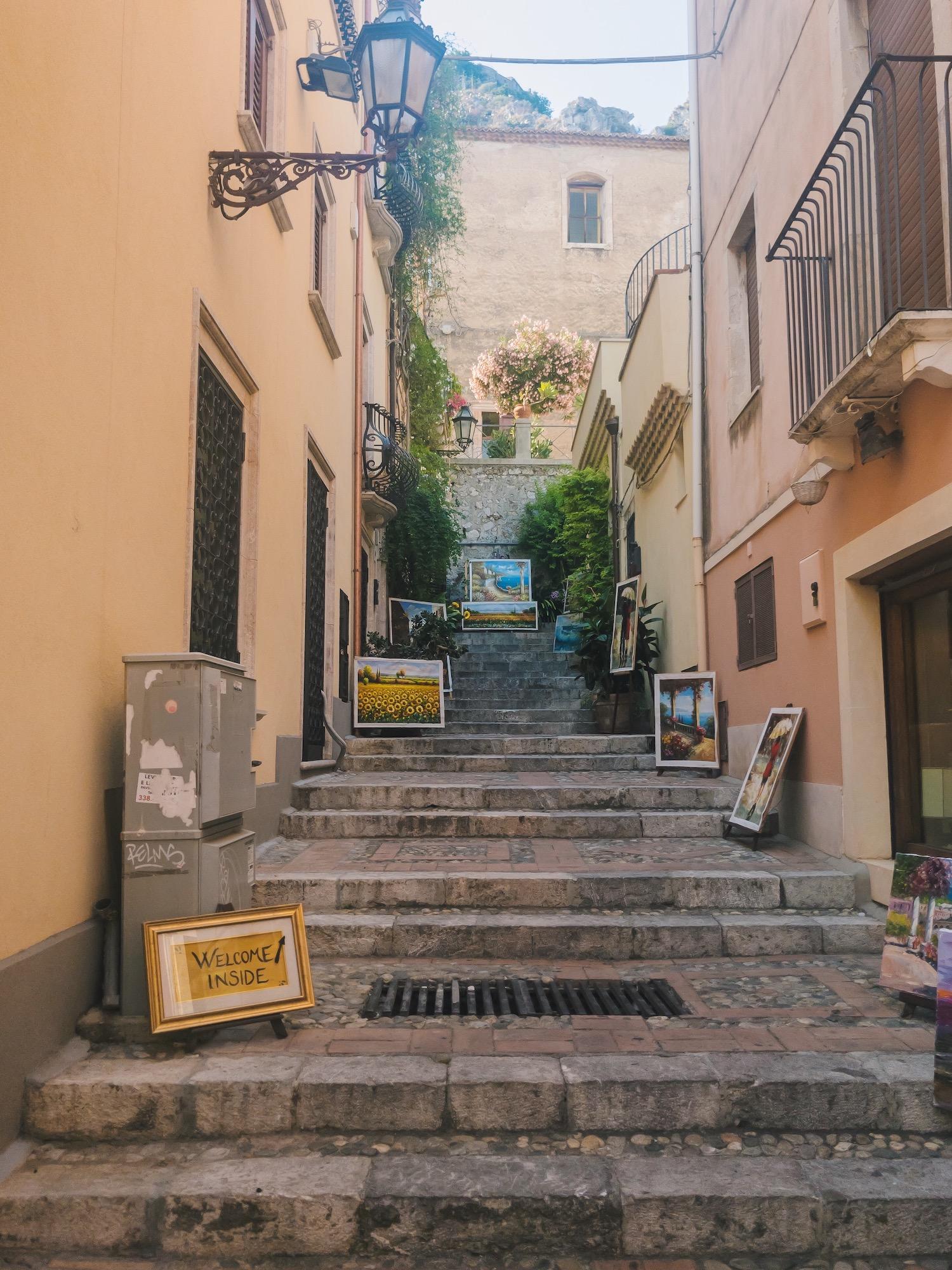 Taormina Sicily Picturesque Italy.JPG