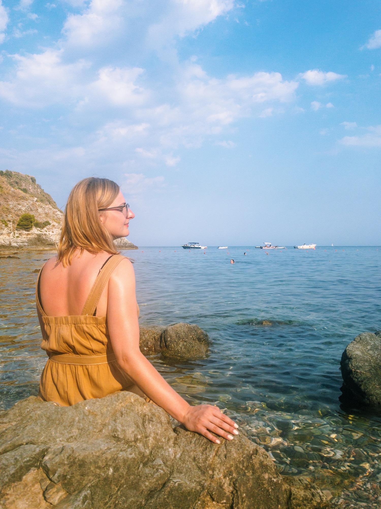 Taormina Sicily The Sea.JPG