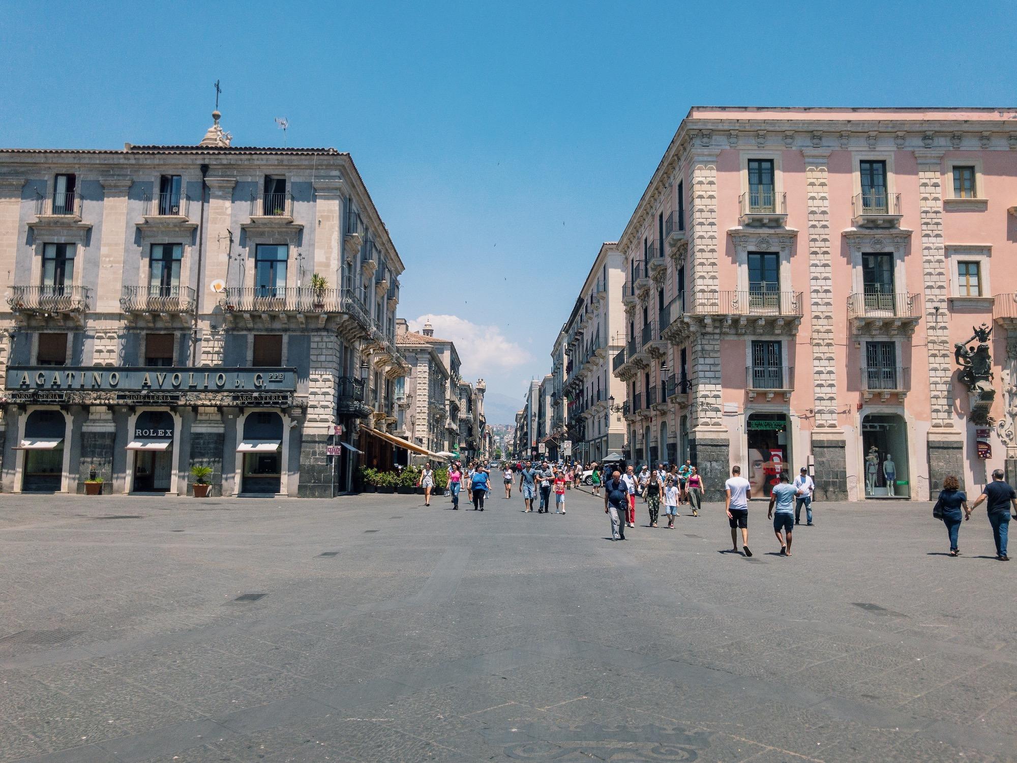 Catania Sicily City Centre.JPG
