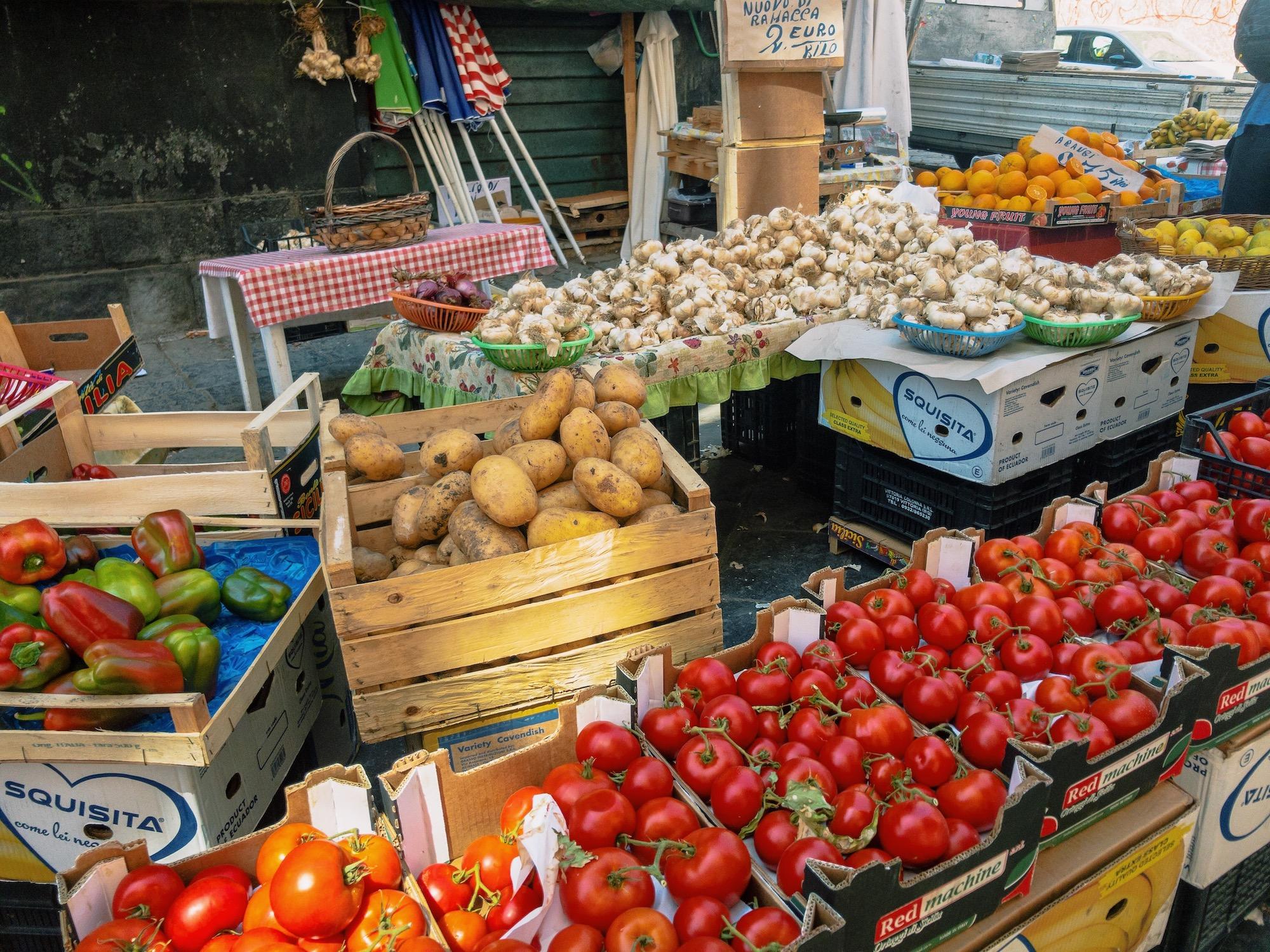 Catania Market Fresh Vegetables.JPG
