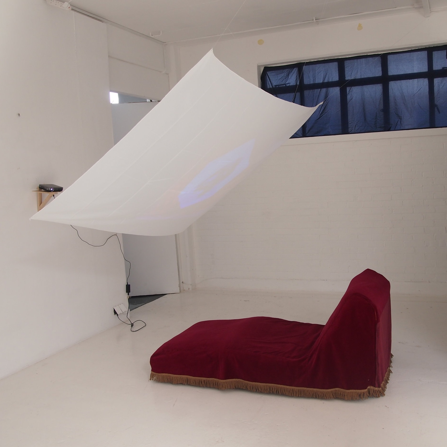 On The Couch  - installation test at KARST, May 2019