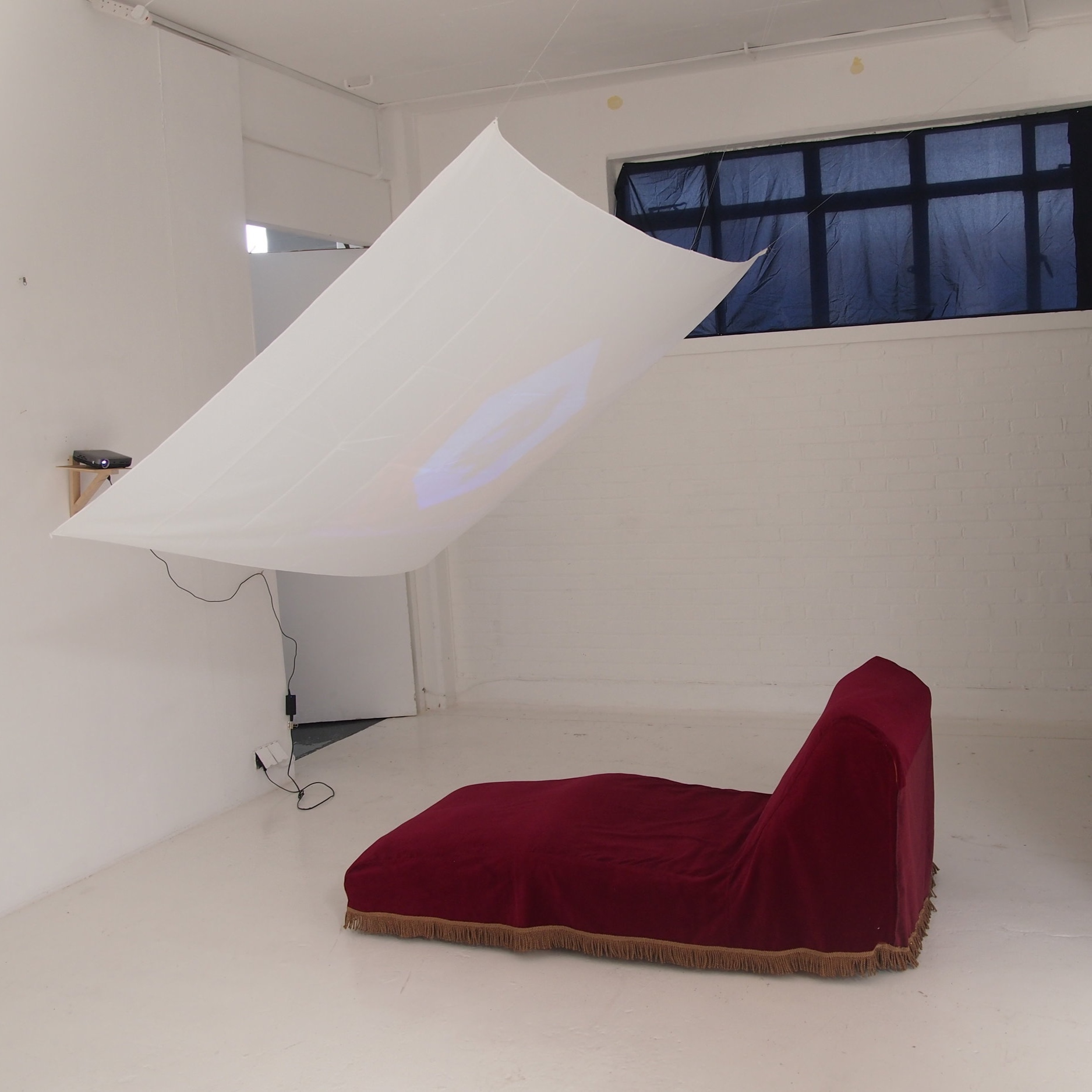On The Couch  - Test installation at KARST, May 2019